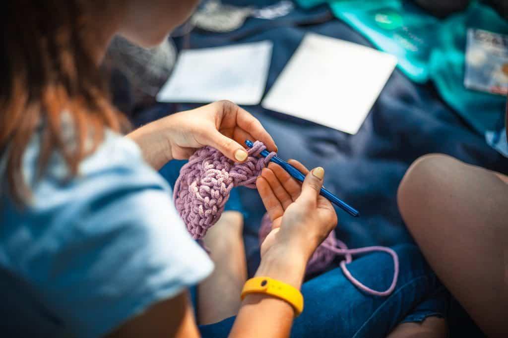 knitting-at-home
